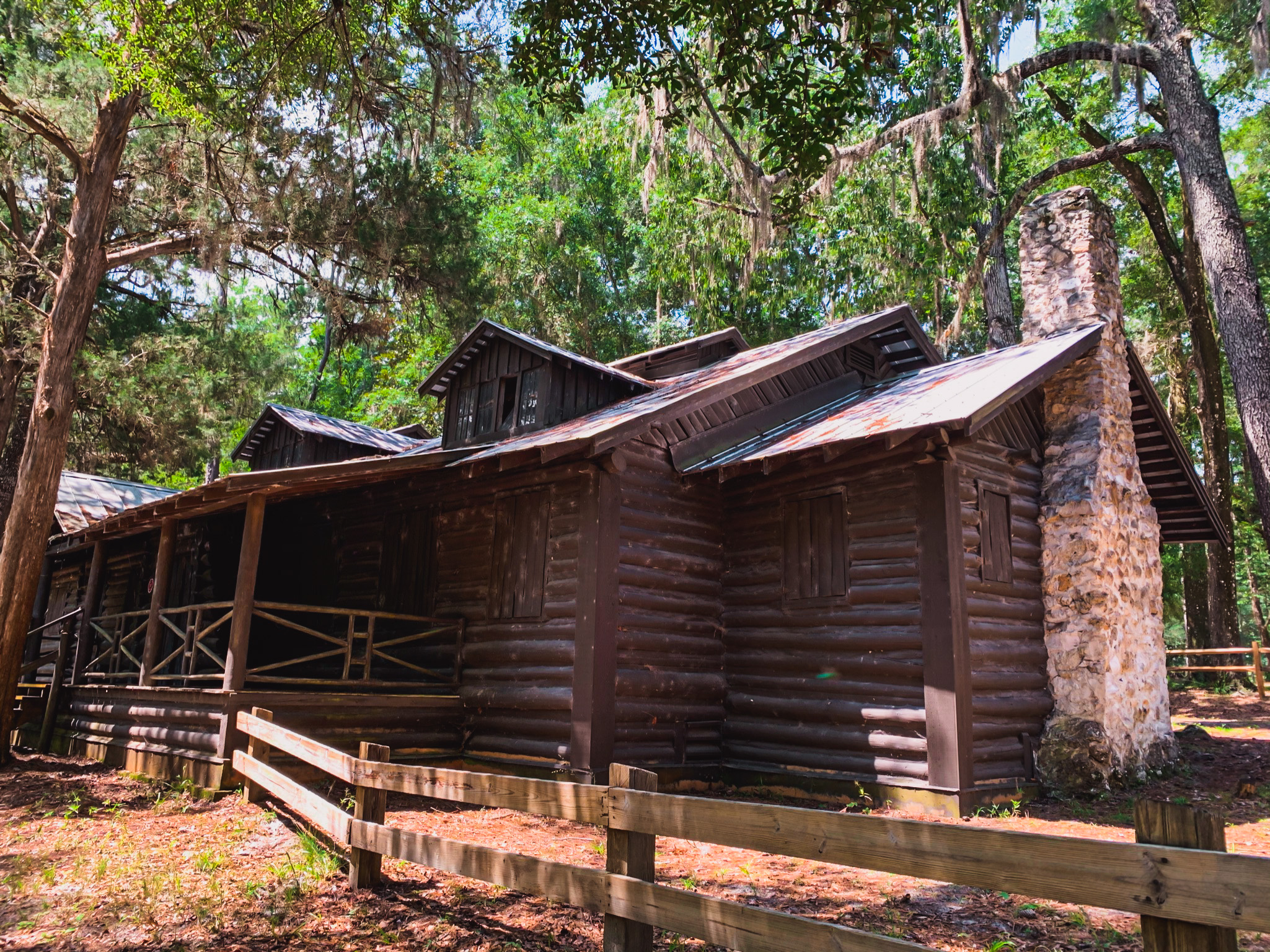 historic site in high springs o'leno state park