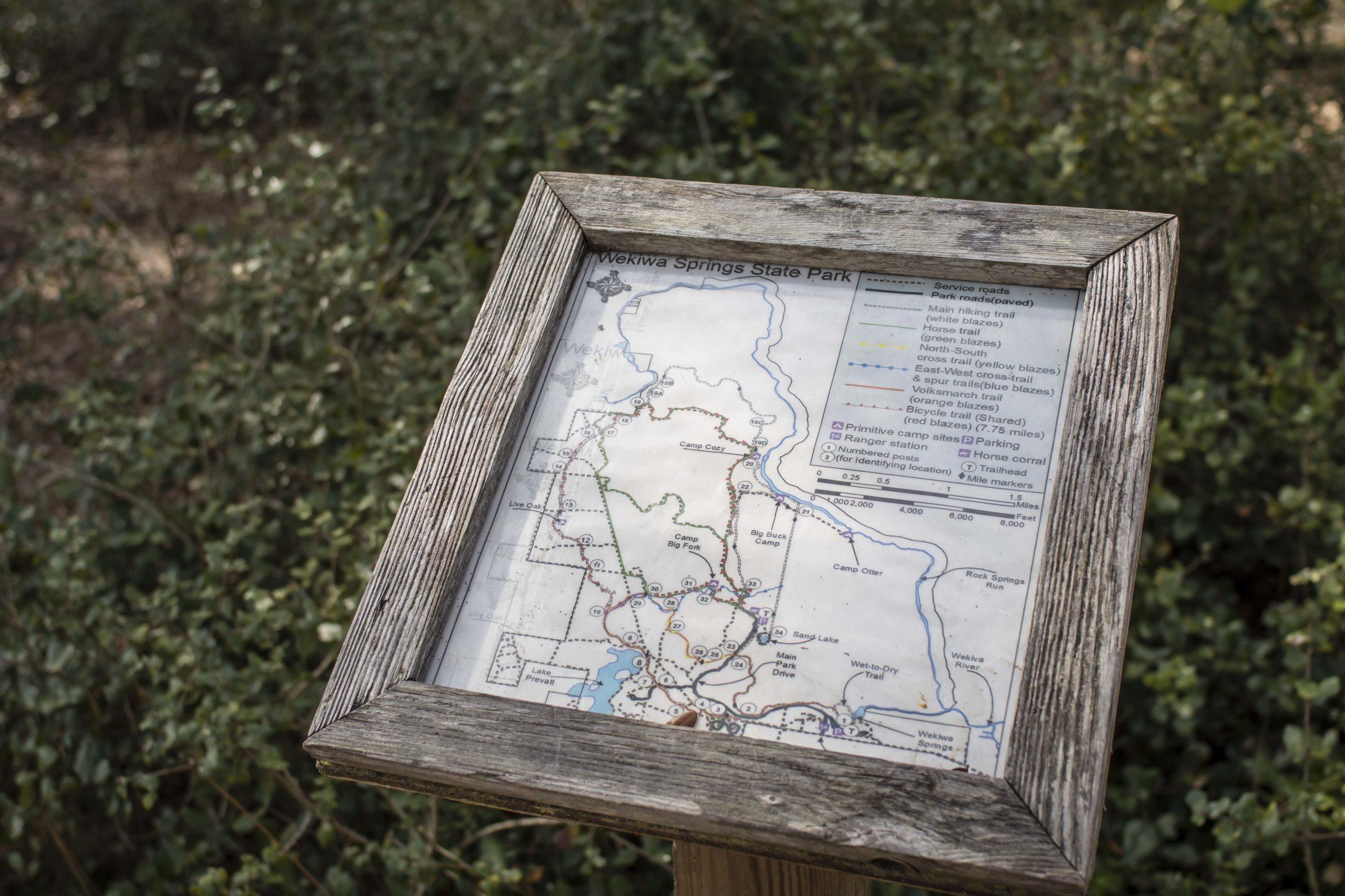 wekiva springs trail map