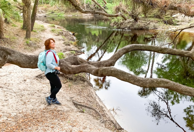 outdoor adventure and hiking in little big Econ state forest