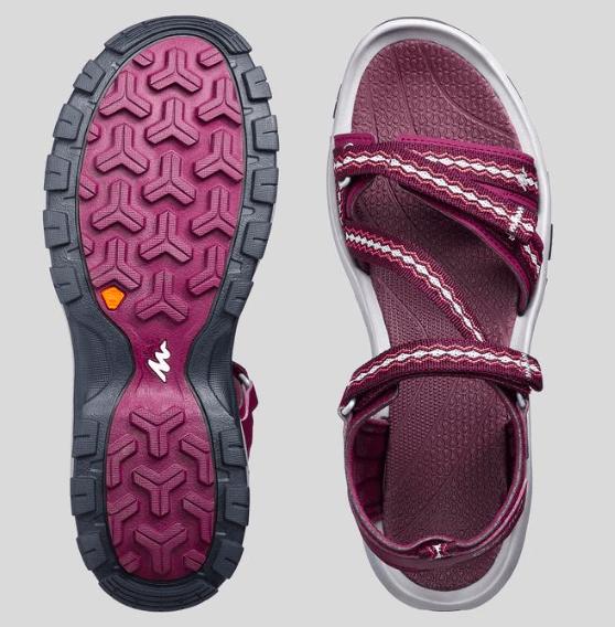 Quechua hiking sandals for women