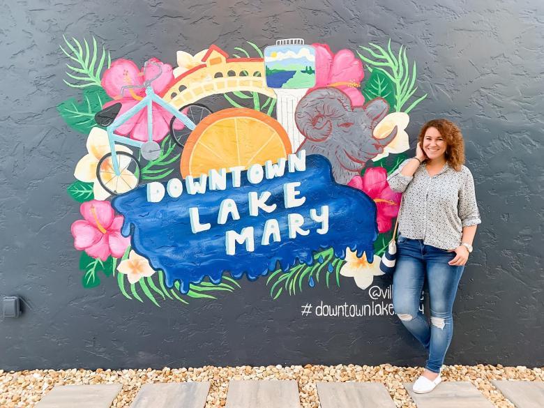 downtown lake mary mural art