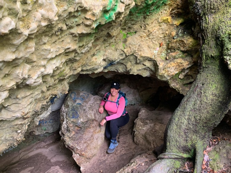 hiking and exploring cave systems in florida