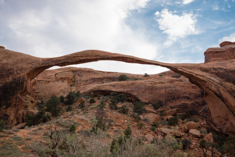 landscape arch amazing epic hikes in arches