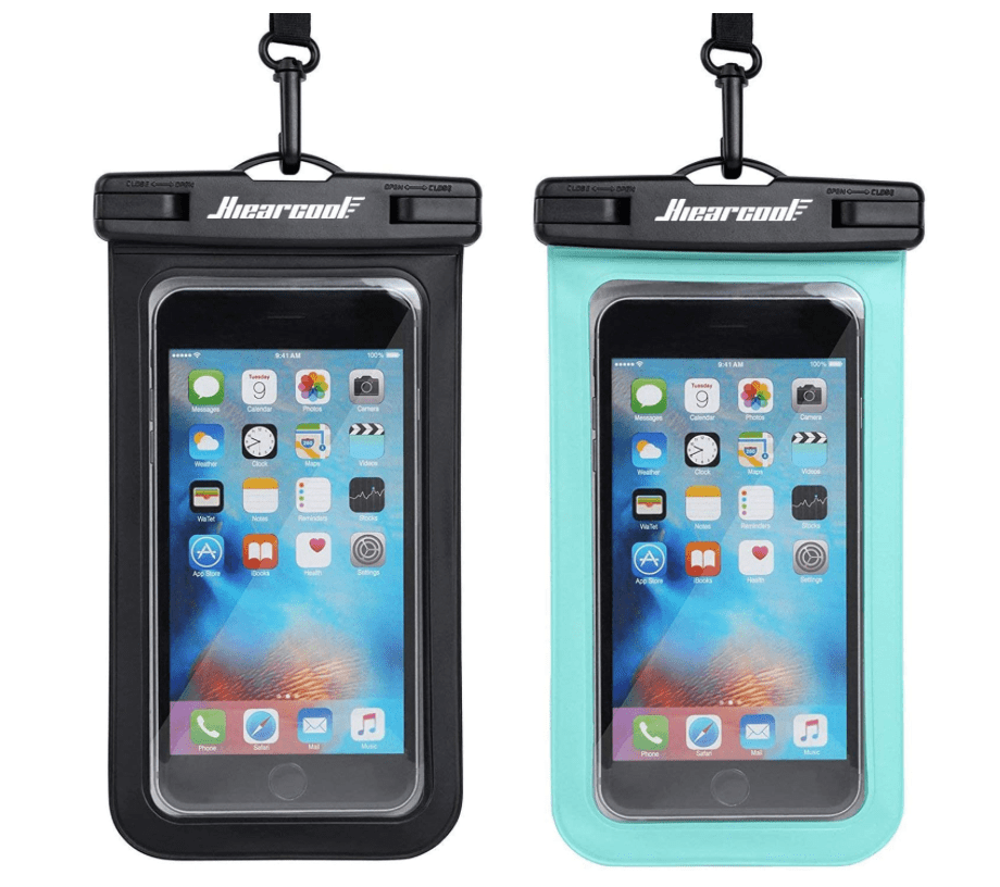waterproof phone pouch for hiking