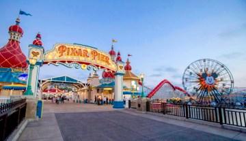 Pixar Pier Disney California Adventure Park