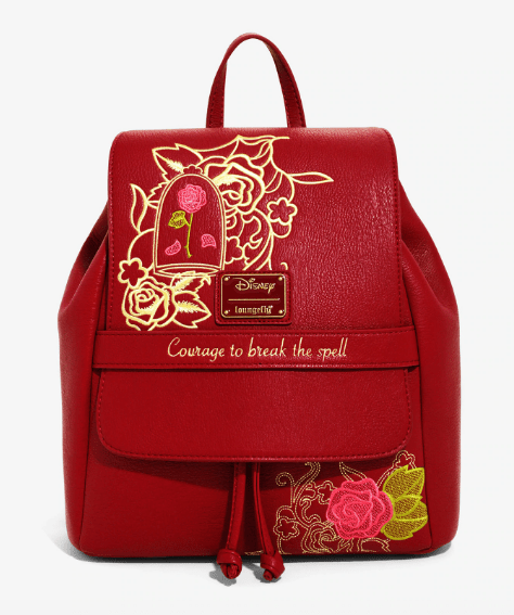 WIN a BoxLunch exclusive Beauty and the Beast mini backpack!