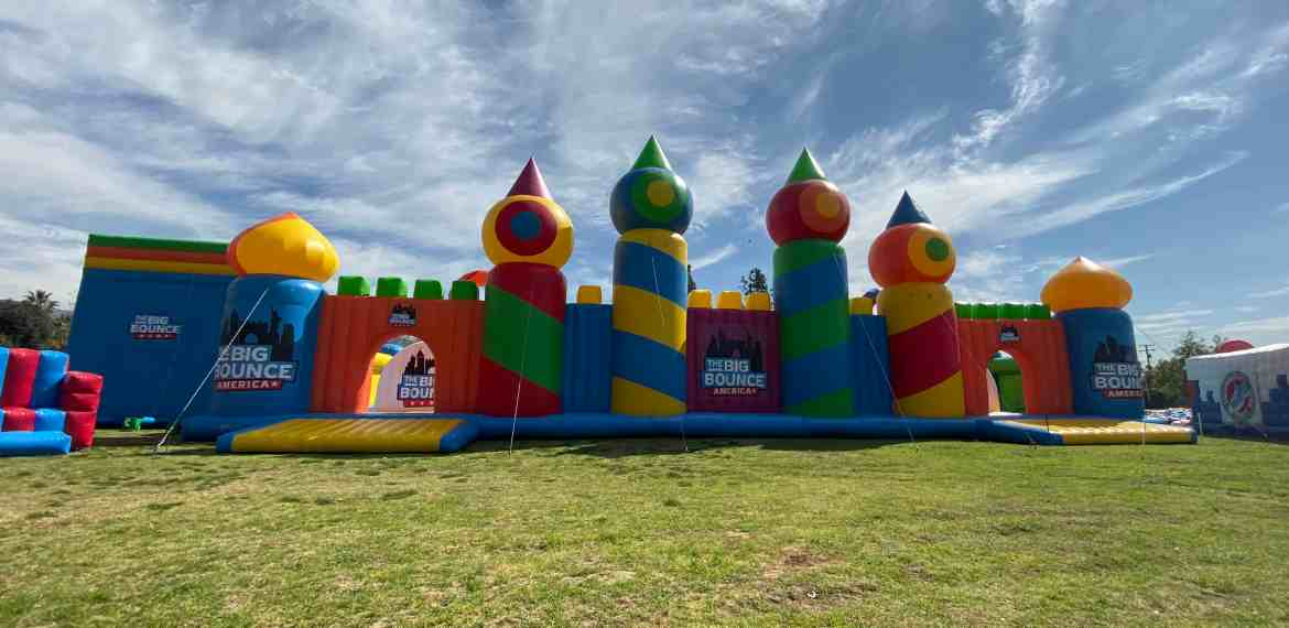 The World's Biggest Bounce House Has Made It's Way to California