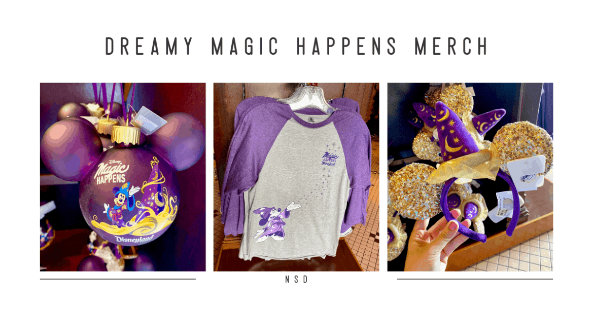 Magic Happens Parade Merchandise at Disneyland