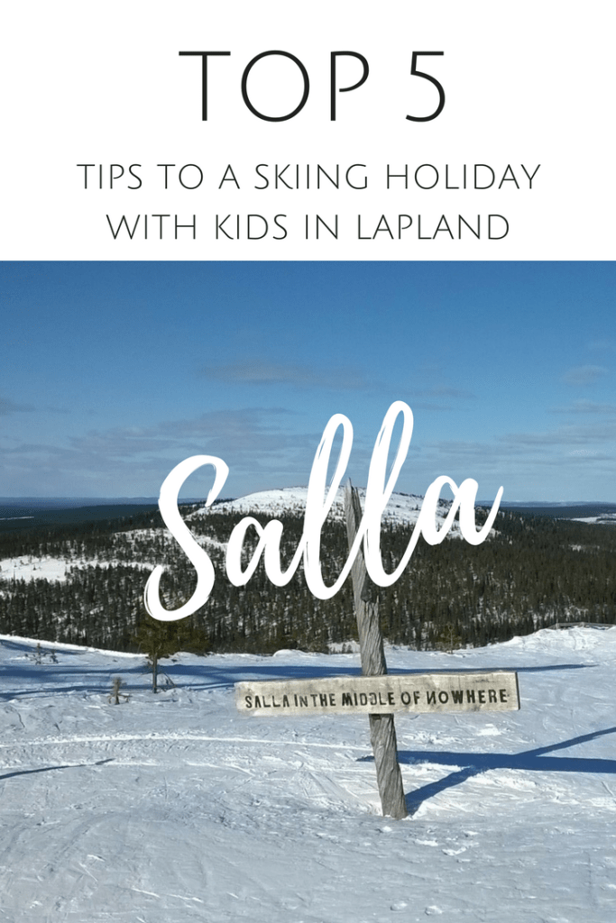Top 5 tips to a Skiing holiday with kids in Salla