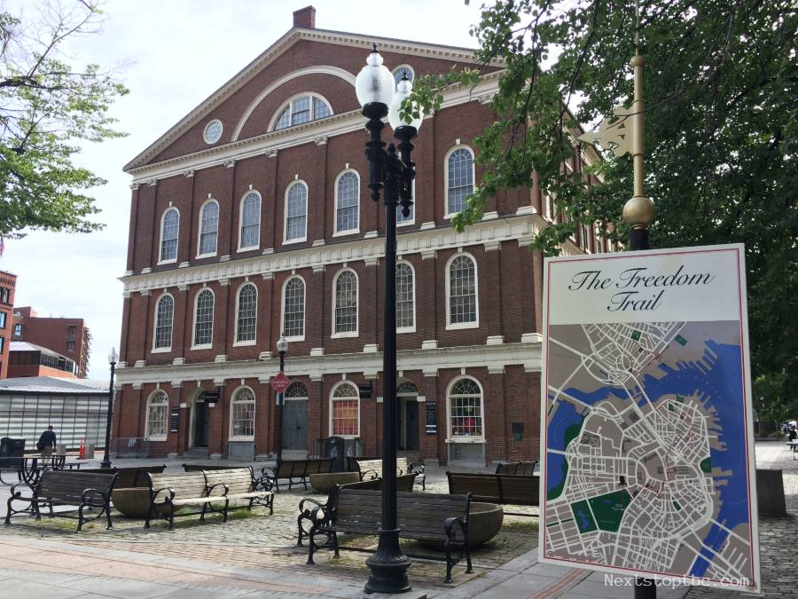 Freedom Trail, Faneuil Hall