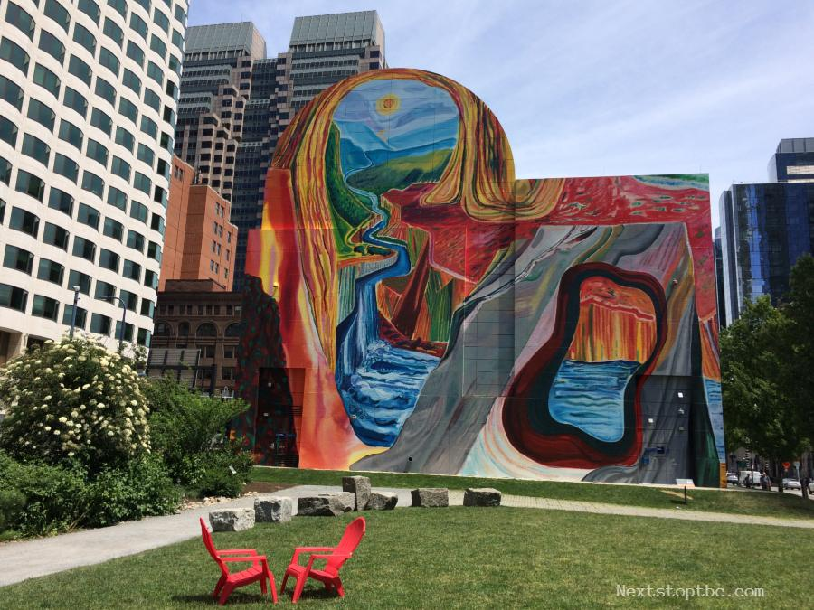 Rose F. Kennedy Greenway Mural