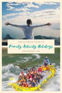 Family Activity holidays - pin for later