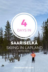 4 Days in Saariselkä - Skiing in Lapland Urho Kekkonen National Park