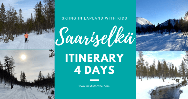 4 Days in Saariselkä – Skiing in Lapland Urho Kekkonen National Park