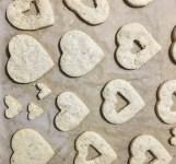 Baked hearts