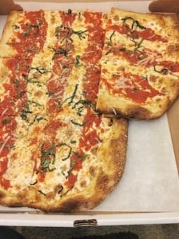 "Roman style pizza ""al metro"" - by the meter"
