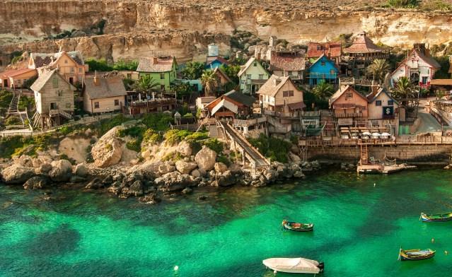 Malta op groen