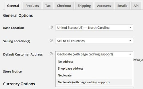 WooCommerce-Default-Customer-Address