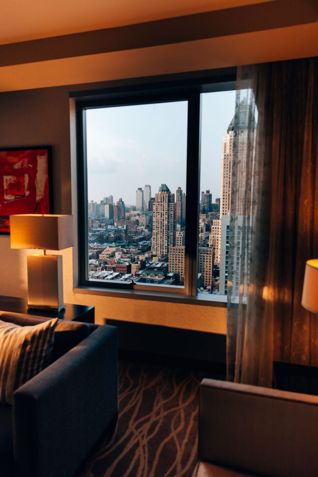 New York blogger Nita Mann from Next With Nita shares her stay at the Intercontinental Times Square and reviews the hotel's amenities, restaurants, and overall vibe.