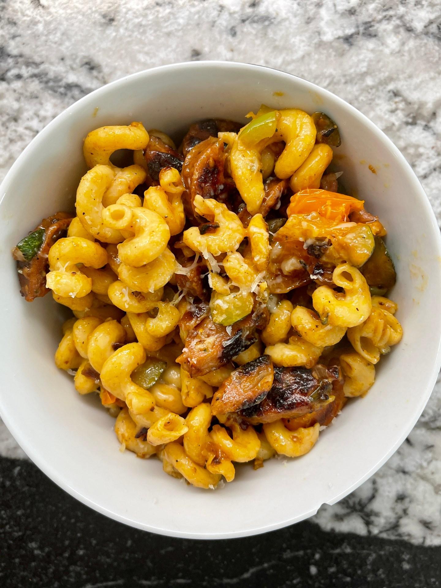 Nita Mann shares her squash pasta recipe