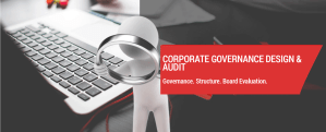 CORPORATE GOVERNANCE DESIGN & AUDIT