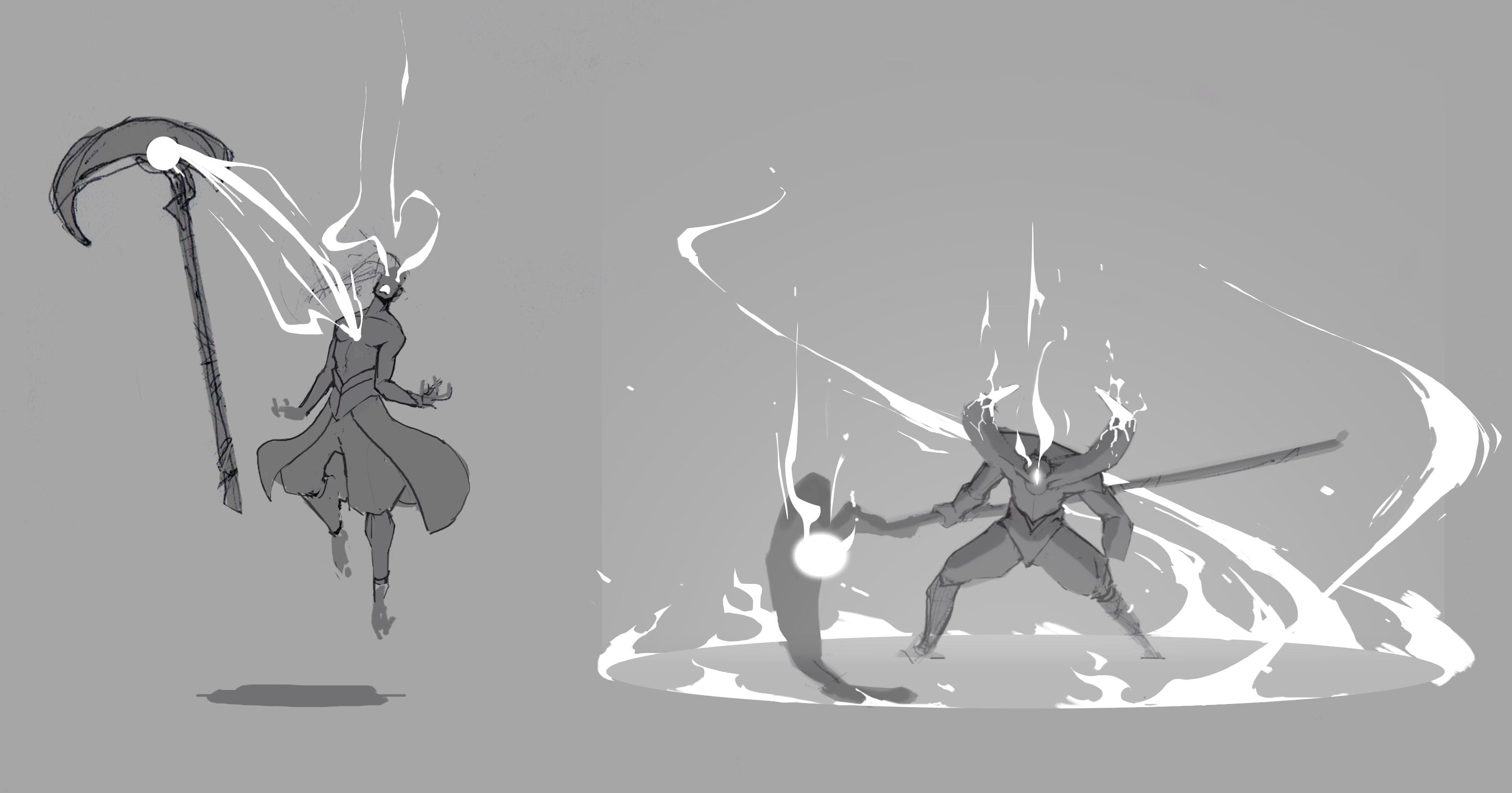 Darkin Transformation Concept Art