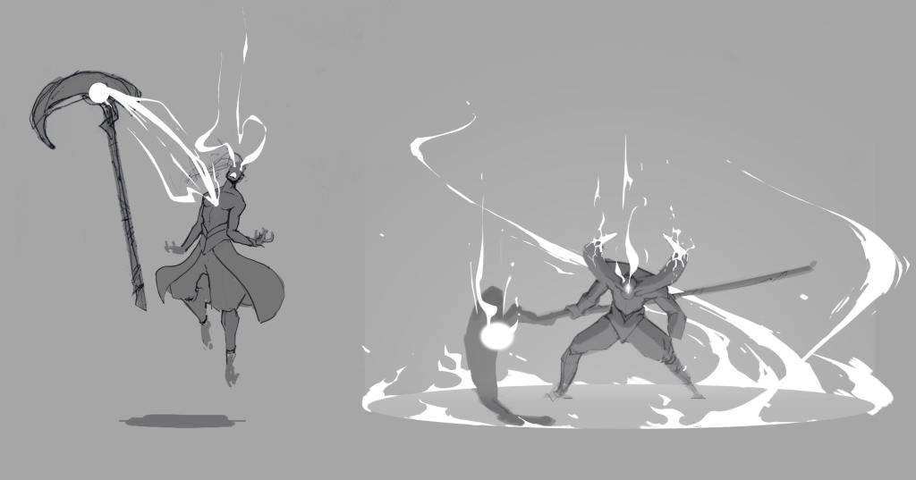 Darkin Transformation Concept Art