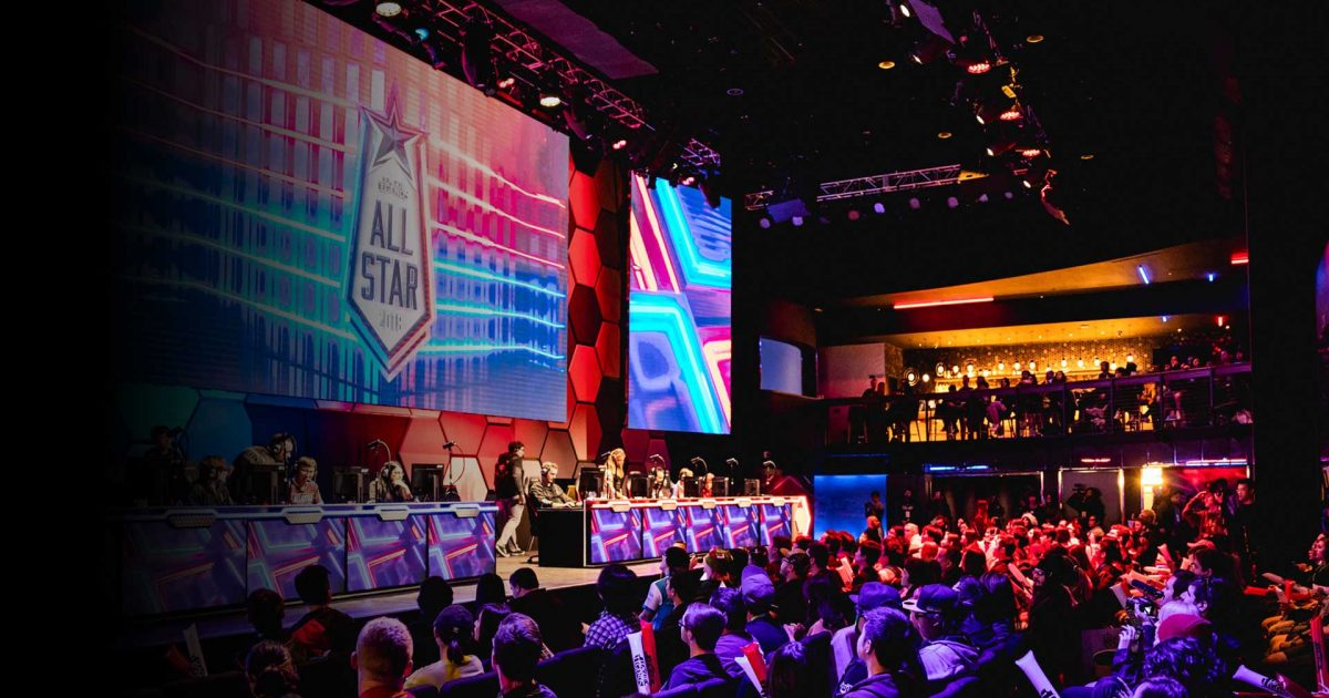 2019 all star event league of legends