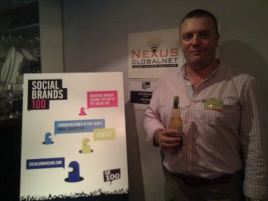 Social Brands 100 Event at The Brickhouse, Brick Lane, London