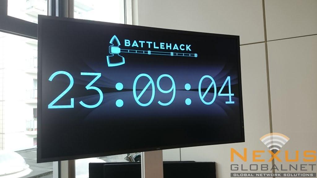 BattleHack Countdown Timer
