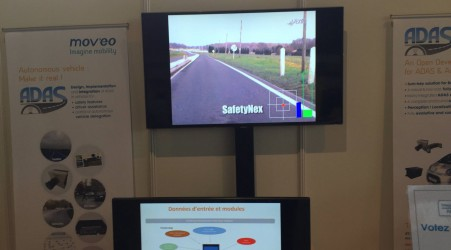 NEXYAD at the Mov'eo Days in Poissy, Forum Armand PEUGEOT