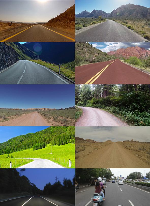 RoadNex 10 different roads