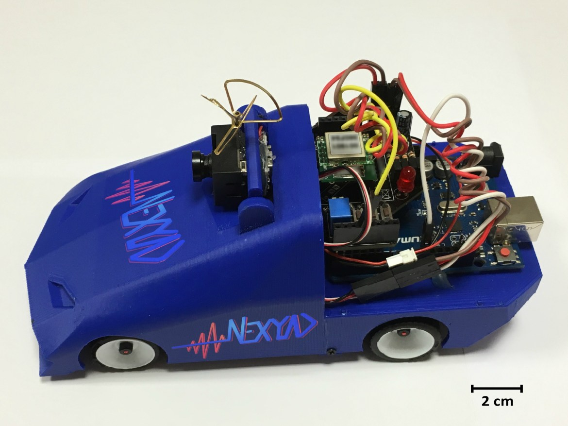 Scale Model Car Nexyad