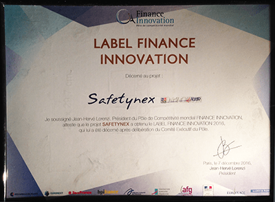 Label Finance Innovation - SafetyNex