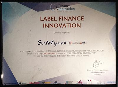 Label Finance Innovation - SafetyNex