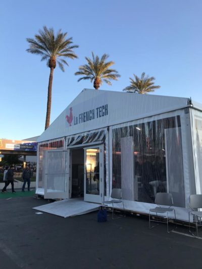 French Tech booth at CES