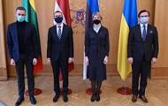 Страны Балтии поддержали курс Украины в ЕС и НАТО