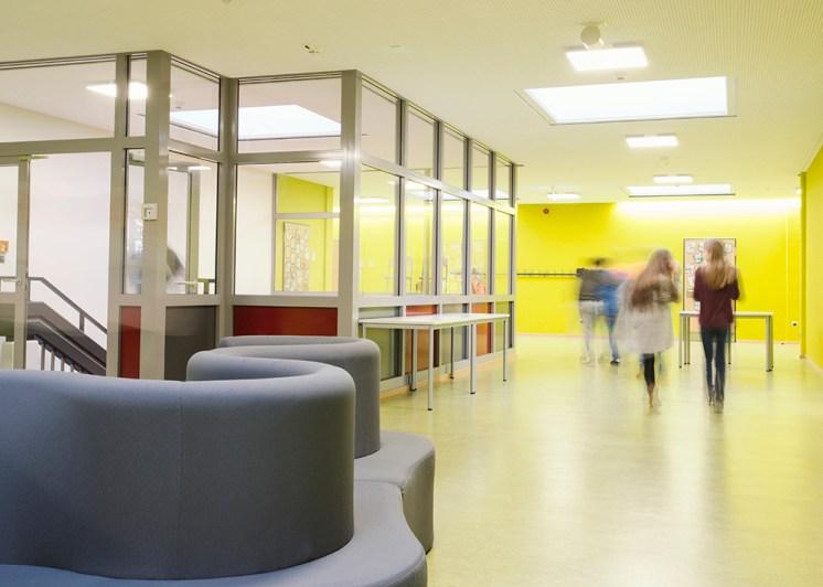 Schulgebäude Ten-Brink-Gemeinschaftsschule ©Jana Akyildiz 2018