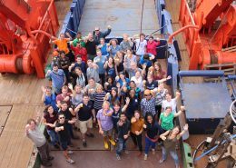 Participants of the Floating Summer School 2015: Photo Credit Pauhla McGrane