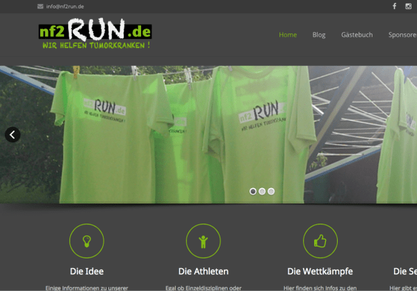 NF2run.de mit neuem Design