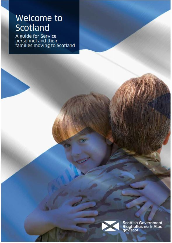 Welcome to Scotland poster.