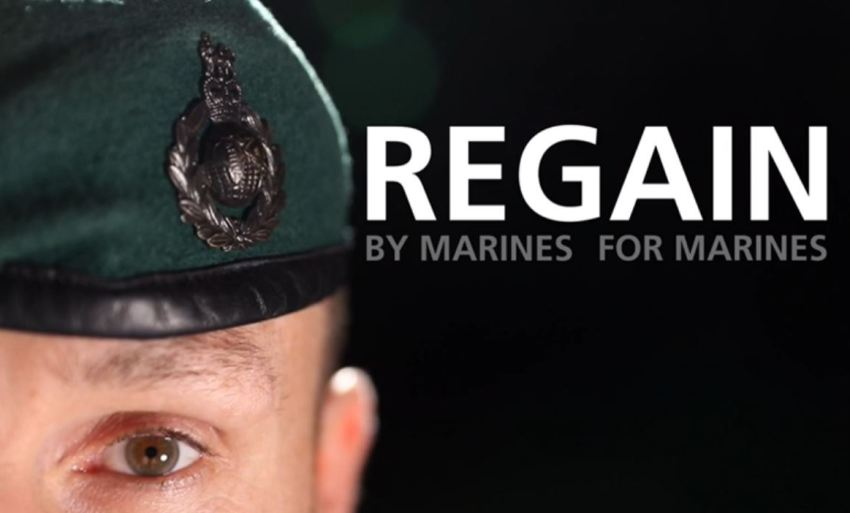Project regain poster