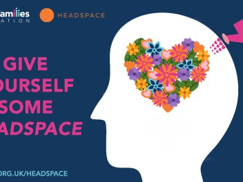 NFF and Headspace project - poster, titled 'Give yourself some Headspace'