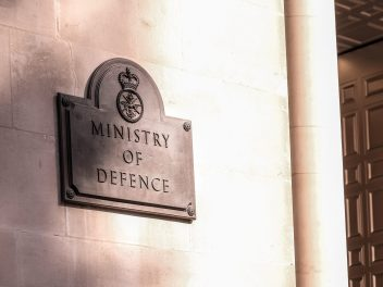 MOD office in Whitehall