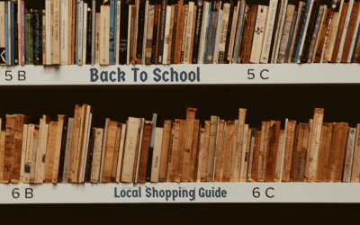 Back To School Local Shopping Guide