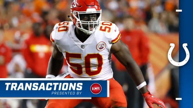 Justin Houston (Foto: Site/Colts)