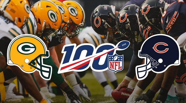 Green Bay Packers x Chicago Bears (Foto: NFL)