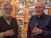 Randy Kenyon and John Elliot enjoying a chat