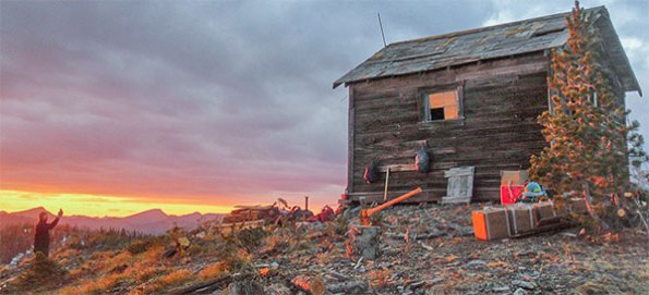 Coal Ridge Cabin - before