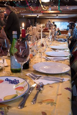 The tables looked wonderful